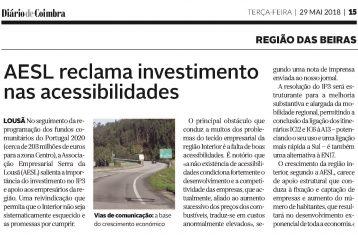 DC - AESL Reclama investimento nas acessibilidades