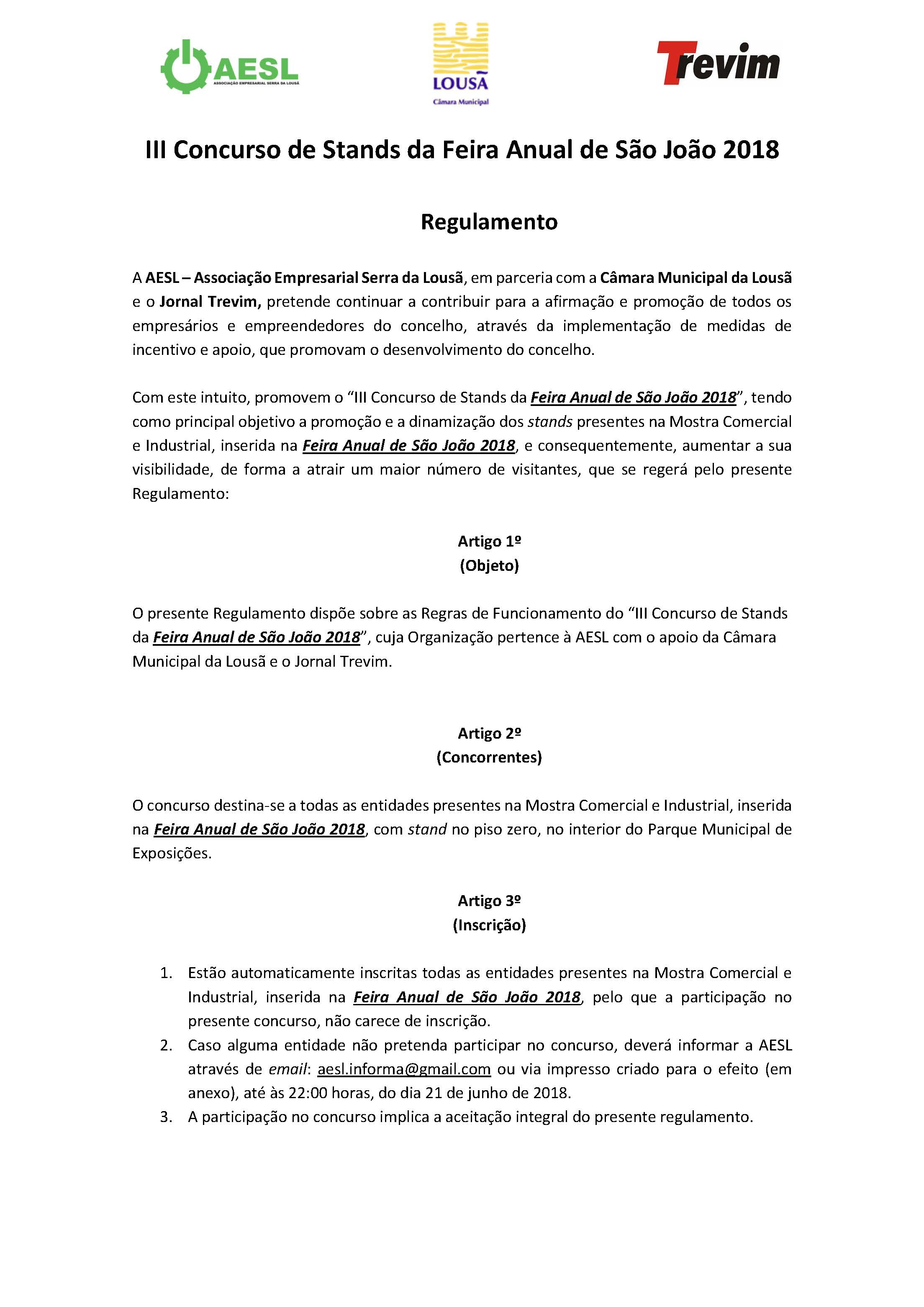 Regulamento - III Concurso de Stands da Feira Anual de São João 2018_Página_1
