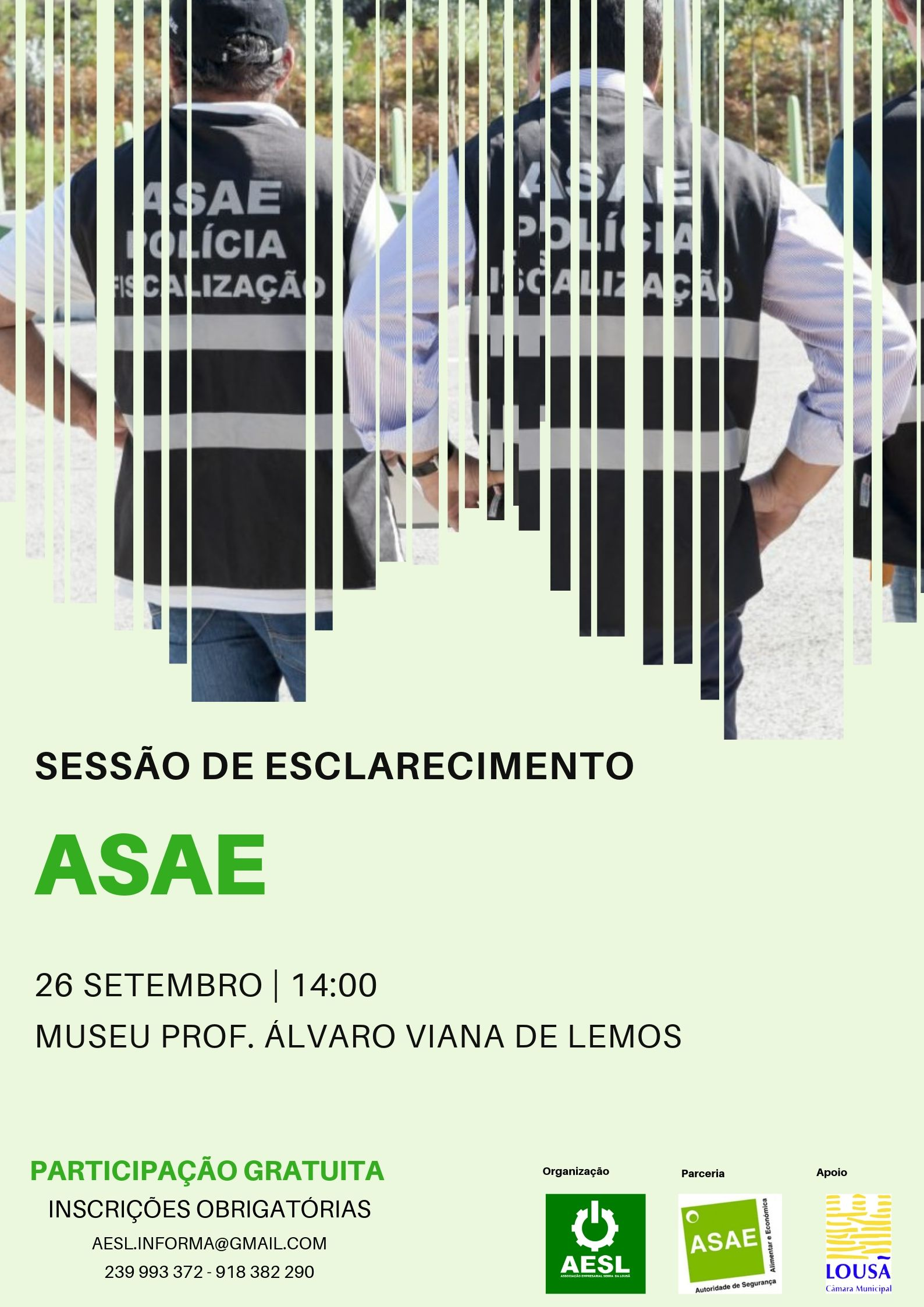 Sessão de Esclarecimento ASAE